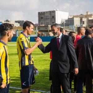 ملعب أبوسليم البلدي يستقبل بطولة السلام لكرة القدم