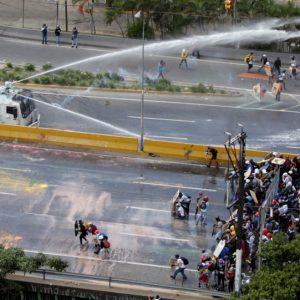 فنزويلا تشهد مظاهرات حاشدة