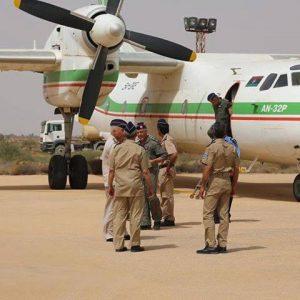 ضباط من الجيش الليبي يصلون زوارة لـ