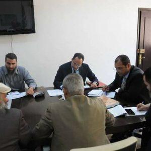 وزارة التعليم تناقش مقترح توزيع مخصصات من الموازنة العامة للقطاع