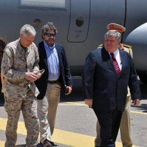 وصول قائد القوات الأمريكية