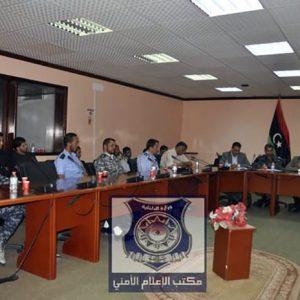 اجتماع موسع لرئيس وأعضاء جهاز مكافحة الهجرة غير الشرعية