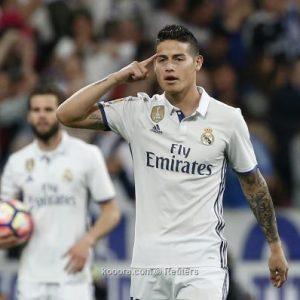 تلميح جديد من رودريجيز لرحيله عن ريال مدريد
