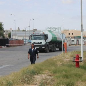 جولة لمكتب الإعلام بشركة البريقة داخل طرابلس