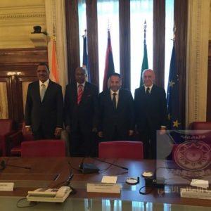 اجتماع رباعي لوزراء داخلية ايطاليا وليبيا تشاد والنيجر