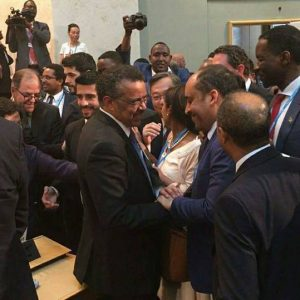 مشاركة ليبيا في انتخاب المدير العام لمنظمة الصحة العالمية