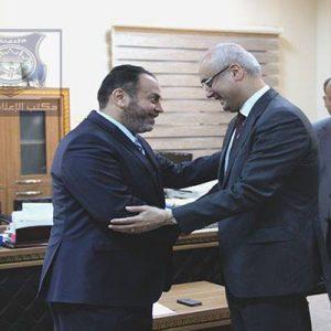 وزير الداخلية المفوض يستقبل السفير التركي لدي ليبيا