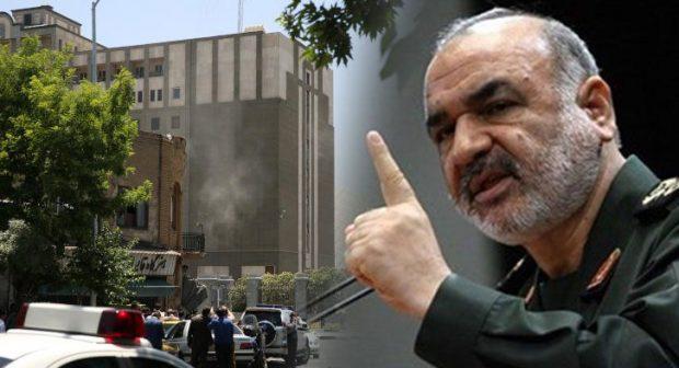 السعودية وراء هجومي طهران — الحرس الثوري الإيراني