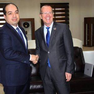 «معيتيق» يلتقي «كوبلر» قبل انتهاء مهمته بليبيا