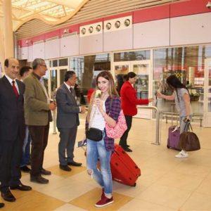 بعد توقف دام 9 أشهر..111سائحا أرمينياً يَصلون القاهرة