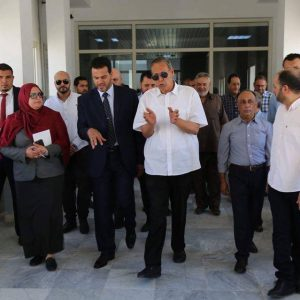 وكيل وزارة الصحة يتعهد بحلحلة المشاكل والصعوبات التي تعيق سير عمل مستشفى القلب