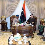 نائب رئيس أركان جيش الإمارات يزور قيادة الكرامة في الرجمة