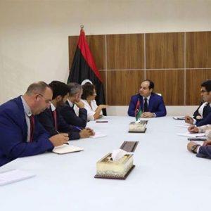 «معيتيق» يلتقي سفيرة فرنسا لدى ليبيا