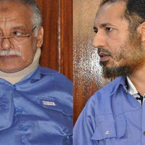 تأجيلُ جلستَيْ المُتهمَيْن الساعدي القذافي والبغدادي المحمودي