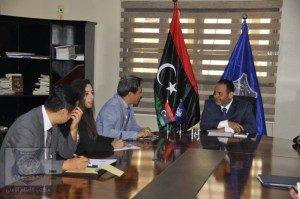 وزير الداخلية المُفوض يلتقي سفير كوريا الجنوبية المعتمد لدى ليبيا
