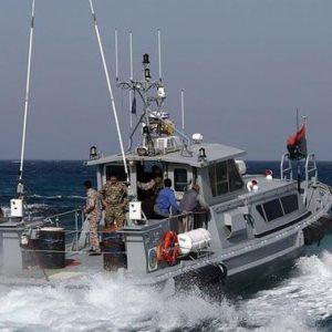 دورة تدريبية لعناصر خفر السواحل الليبيين في أوروبا