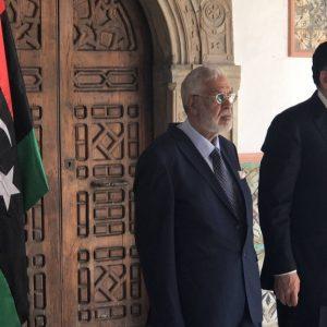 رئيس المجلس الرئاسي لحكومة الوفاق الوطني يقبل أوراق اعتماد سفيري السويد وبلجيكا