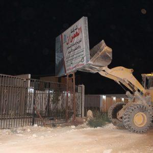بنغازي.. لجنة إزالة اللوحات الإعلانية تشرع ببدء عملها