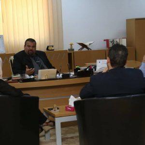 رئيس الهيئة العامة للثقافة يستقبل سفير ليبيا لدى جمهورية أوغندا