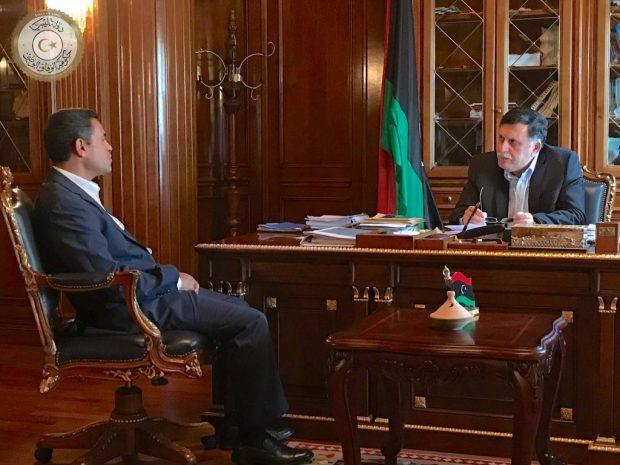 نتيجة بحث الصور عن السراج يبحث مع رئيس المفوضية العليا استعدادها للاستحقاقات الانتخابية المقبلة