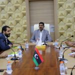 حمزة يلتقي ممثلين عن التجمع الوطني الليبي