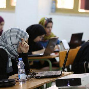 وزير العمل يُبدي دعمه لمشروع الشهر المفتوح للتدريب بجامعة طرابلس
