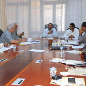 اجتماع مدراء المنطقة الوسطى واعتماد منهج خاص لرياض الأطفال