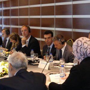 اجتماع بين الجانبين الليبي والأوروبي في إطار التنسيق الدولي للتعاون الفني مع ليبيا