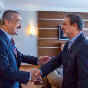«السويحلي» يلتقي «ميليت» لمناقشة مستجدات الشأن الليبي