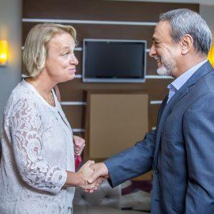 السويحلي يلتقي سفيرة الإتحاد الأوروبي في طرابلس