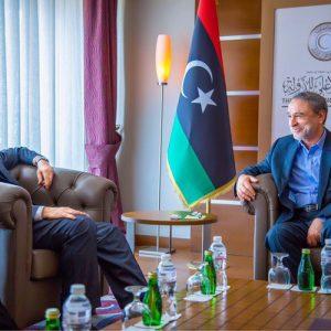 «رئيس المجلس الأعلى للدولة» يلتقي «غسان سلامة» مبعوث الأمم المتحدة إلى ليبيا