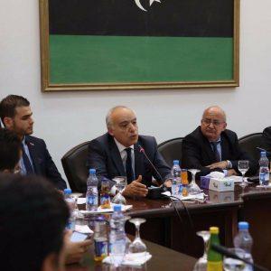 غسان سلامة لطلاب جامعة طرابلس: لقد قمتم بثلاثة إنجازات نموذجية