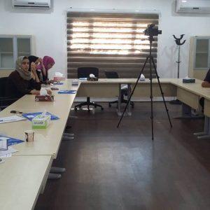 إعلام مصلحة المرافق التعليمية يشارك هيئة دعم الصحافة فعالياتها التدريبية