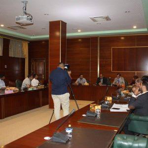 وزير الصحة المفوض يلتقي وفداً من وزارة الصحة التركية