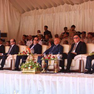 الإحتفال بتخريج الدفعة الأولى من منتسبي الحرس الرئاسي