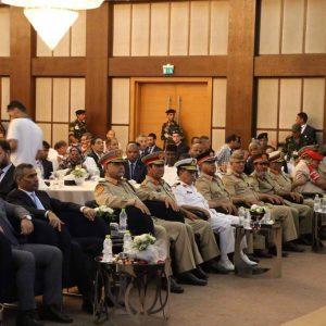 الإحتفال بالذكرى 77 لتأسيس الجيش الليبي