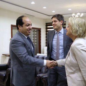 «معيتيق» يلتقي سفيرة الإتحاد الأوروبي لدى ليبيا