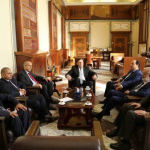 اجتماع مُوسع يضم الرئاسي و المركزي و مؤسستي الإستثمار و النفط