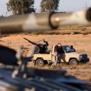 تجدد الإشتباكات المُسلحة بين كتيبة 48 وغرفة العمليات الخاصة بمكافحة تنظيم الدولة في صبراتة