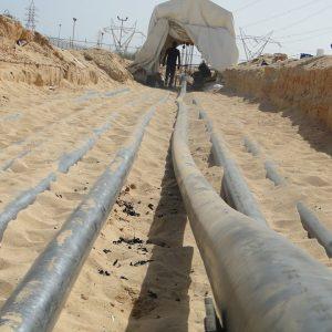 العامة للكهرباء تجري صيانة للوحدة الأولى بمحطة خليج سرت البخارية