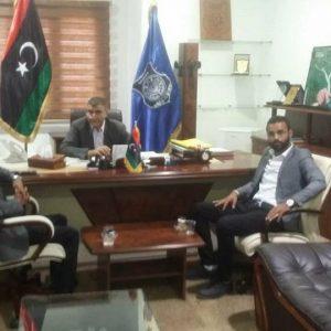 الوطنية لحقوق الإنسان بليبيا تُناقش الانتهاكات الممارسة بحق المُهاجرين