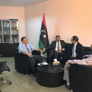 وكيل التعليم يلتقي القنصل الليبي لدى تركيا