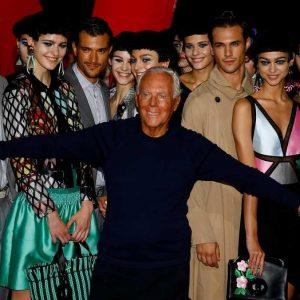 مُصمّم الأزياء الإيطالي