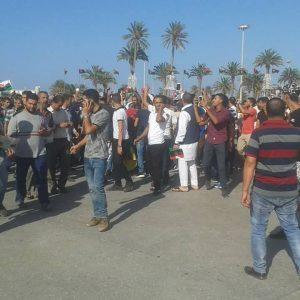 الآن: وصُول متظاهرين إلى ميدان الشُّهداء