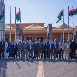 مغادرة لجنة تعديل الإتفاق السياسي بمجلس الدولة إلى تونس