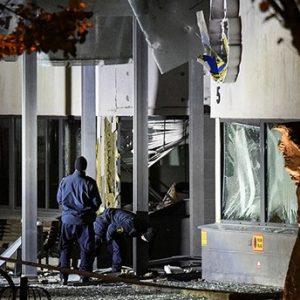 انفجارٌ قويٌ يهز مركزاً للشرطة السويدية فى مدينة هلسينغبورغ