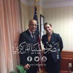 الصديق الكبير يلتقي نائب مساعد وزير الخارجية الأمريكية