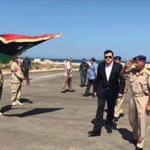رئيس المجلس الرئاسي يقوم بزيارة تفقدية لمدينة صبراتة