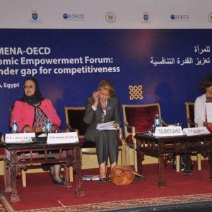 مشاركة ليبية في منتدى التمكين الاقتصادي للمرأة في الشرق الأوسط وشمال أفريقيا