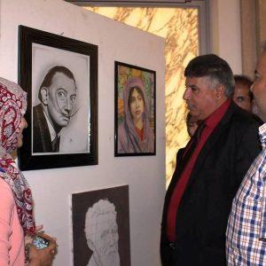 افتتاح معرض الرسم الكلاسيكي الأول في قصر الخلد بطرابلس